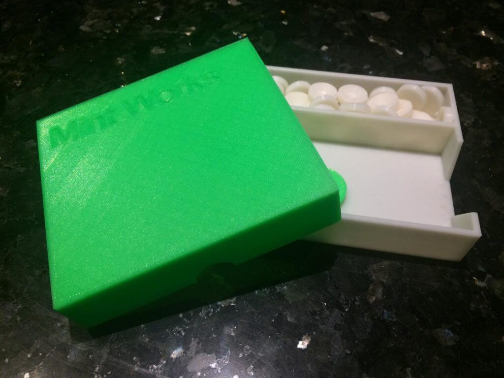 Mint Works Set in PLA