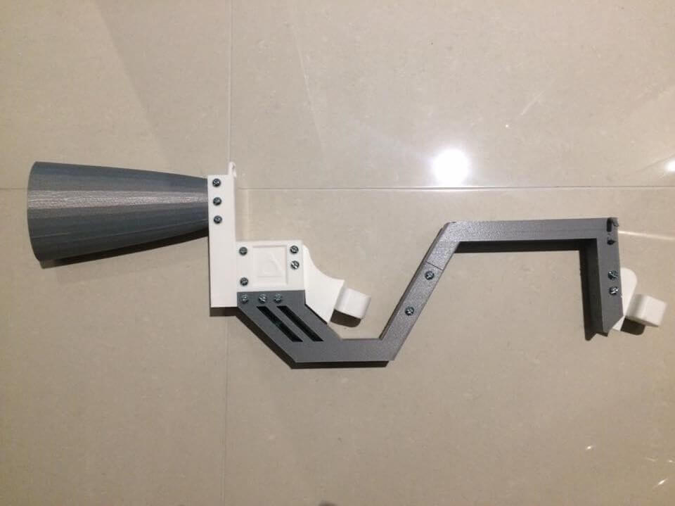 3D Printed VR Gun Photo