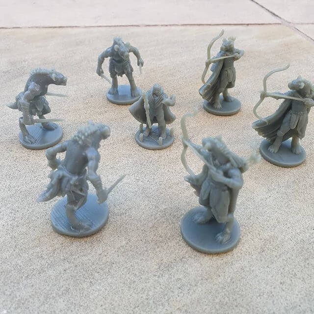Resin Printed Mini's